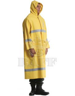 Long Reflector Raincoat